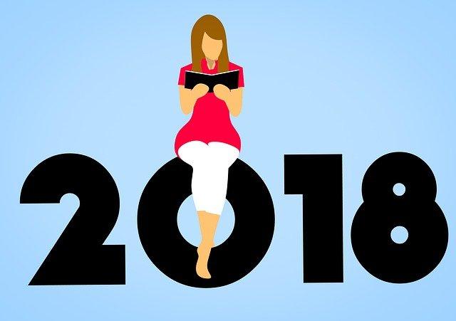 čtenářka a 2018