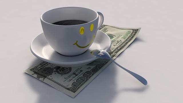 káva na dolarech