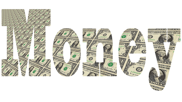 nápis Money